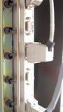 Cables de Ethernet de la telecomunicación Imagen de archivo libre de regalías
