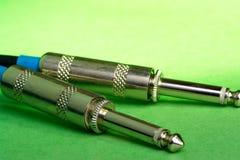 Cables de instrumento Fotos de archivo