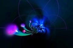 Cables de la óptica de fibras Imagen de archivo libre de regalías