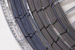 Cables de la electricidad Imagenes de archivo