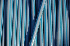 Cables de la fibra de vidrio Fotos de archivo libres de regalías