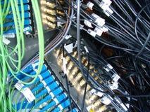 Cables de la investigación Fotos de archivo libres de regalías