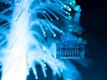 Cables de la red. Imágenes de archivo libres de regalías