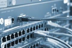 Cables de la red fotos de archivo
