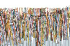Cables de la telecomunicación Fotos de archivo