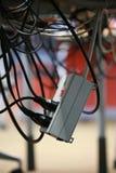 Cables de transmisión Imágenes de archivo libres de regalías