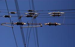 Cables del cielo Imagenes de archivo