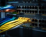 Cables del ordenador Fotos de archivo