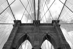 Cables del puente de Brooklyn Fotografía de archivo libre de regalías