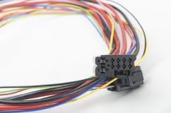 Cables eléctricos Foto de archivo libre de regalías