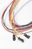 Cables eléctricos imagen de archivo