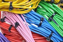 Cables eléctricos Imagenes de archivo