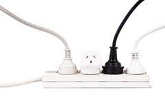 Cables eléctricos aislados imágenes de archivo libres de regalías