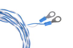 Cables of electrical wiring systems Stock Photography