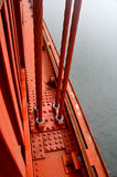 Cables of Golden Gate royalty free stock photography