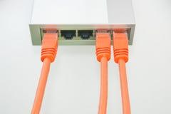 Cables netos Imagen de archivo libre de regalías