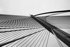 Cables and Poles of Wawasan Bridge Royalty Free Stock Photo