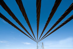 Cables of Steel Royalty Free Stock Photography