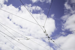 Cables tram Royalty Free Stock Photography
