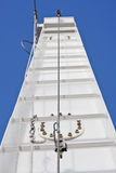 Cables up Ships Tower Royalty Free Stock Photo