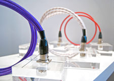 Cables - various colours Royalty Free Stock Photo