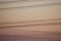cablespower ηλεκτρική ενέργεια Στοκ Εικόνες
