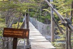 Cablestay-Brücke mit der maximalen Kapazität von 1 stockfotografie