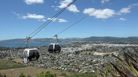 Cableway γονδολών οριζόντων Rotorua - Νέα Ζηλανδία