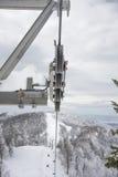 Cableway εξέλικτρα Στοκ εικόνες με δικαίωμα ελεύθερης χρήσης