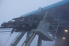 Cableway μηχανισμών Στοκ Φωτογραφία