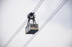 cableway της Κίνας Στοκ εικόνες με δικαίωμα ελεύθερης χρήσης