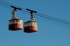 Cableway Royalty Free Stock Images