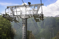 Cableway Obrazy Stock