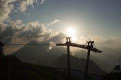 Cableway Zdjęcie Royalty Free