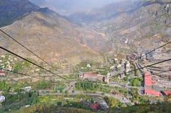 Cableway in Alaverdi, Armenia Royalty Free Stock Photo