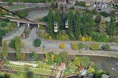 Cableway in Alaverdi, Armenia Stock Image