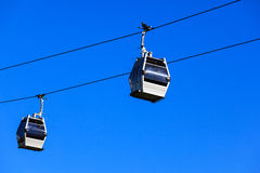A cableway Royalty Free Stock Photos
