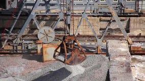 Cableway bucket stock video footage