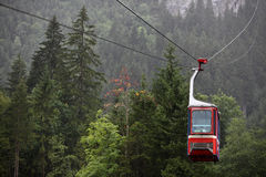 Cableway / Cable car. In Swiss Alps (Switzerland, Europe Stock Photos