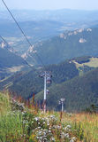 Cableway on Chleb mountain, Slovakia Stock Image