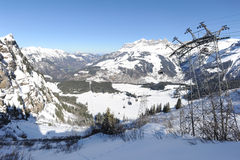 Cableway of Engelberg Royalty Free Stock Photography