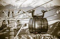 Cableway FUNITEL, Slovakia Stock Photography
