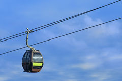 Cableway on Langkawi island, Malaysia royalty free stock photo