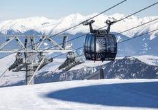 Cableway at Low Tatras, Slovakia Stock Photography