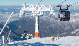 Cableway in Low Tatras, Slovakia Stock Photography