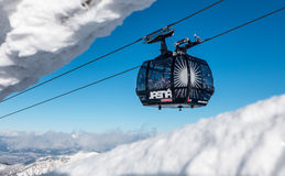 Cableway in Low Tatras, Slovakia Royalty Free Stock Images