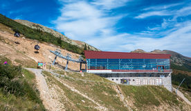 Cableway in Low Tatras, Slovakia Royalty Free Stock Photography