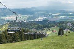 Cableway in Malino Brdo, Slovakia Stock Photos