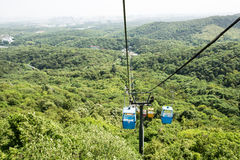Cableway Stock Photo