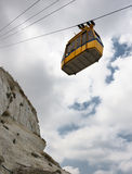 Cableway at Rosh ha-Hanikra Stock Photography